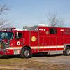 Minquas, New Castle County DE, Rescue 23, 2011 Pierce Arrow XT - 1993 Sausbury, 500-200, (C) Edan Davis, www sjfirenews (3)