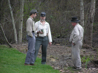 Greg, Kevin and Dave in deep discussion