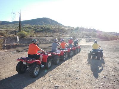 9-12-13 AM ATV SHOOT CHAD & BRETT DOOSAN