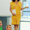 Actress Karyn Parsons brought her project of stories about African Americans, who have done great things, to the kids at the Leominster/Fitchburg Boy's & Girls Club on Tuesday morning. SENTINEL & ENTERPRISE/JOHN LOVE