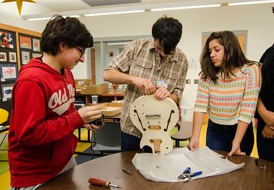 Boys and Girls Club makes guitars