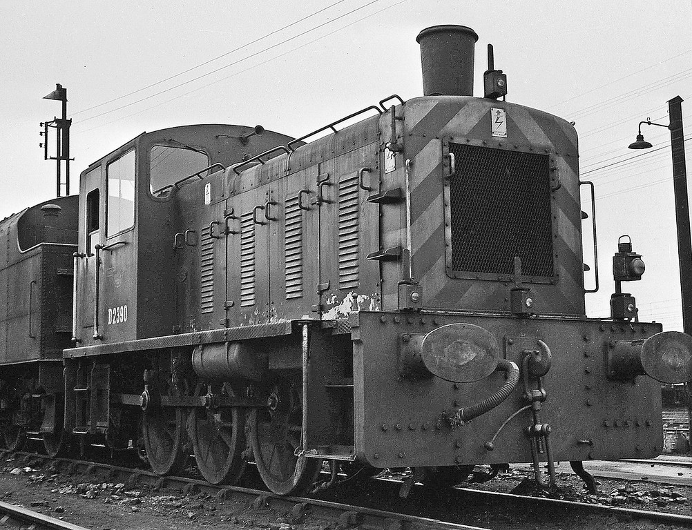 D2380, Speke Junction Shed, Liverpool, August 16, 1964.
