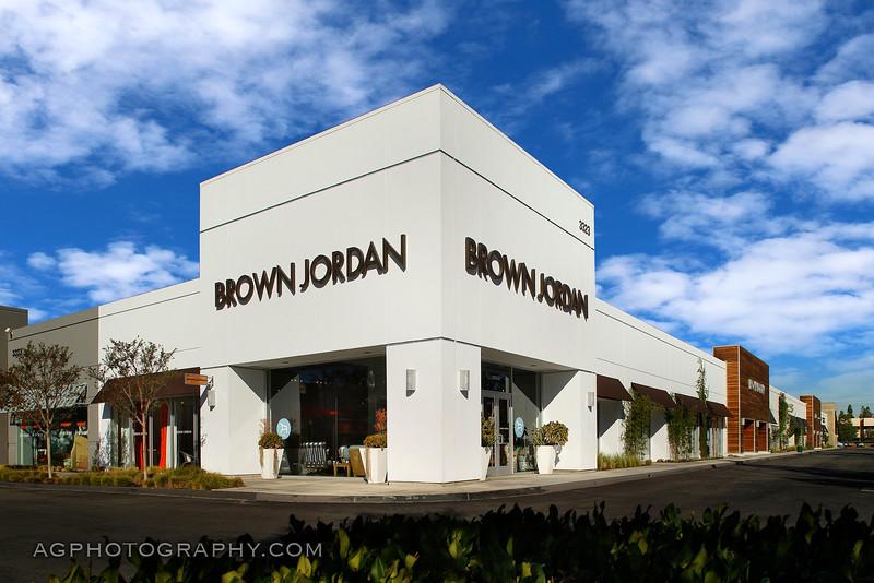 Brown Jordan Showroom, Costa Mesa, CA, 11/4/14.