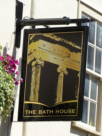 Pub Sign - The Bath House, Benet Street, Cambridge 120623