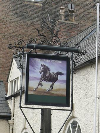 Pub Sign - Horsefair Tavern, Hill Street, Wisbech 110610