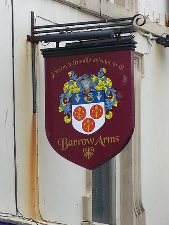 Pub Sign - Barrow Arms, Cavendish Street, Barrow 120310