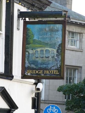 Pub Sign - Bridge Hotel, Stramongate, Kendal 130922