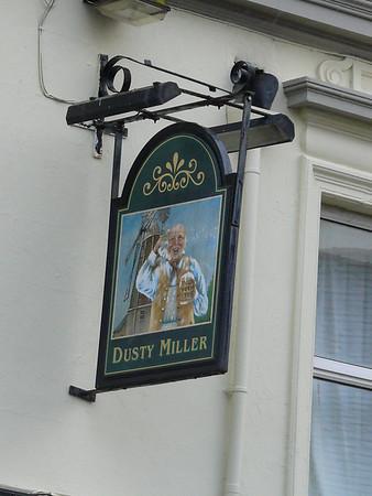 Pub Sign - Dusty Miller, Albion Street, Whitehaven 110106