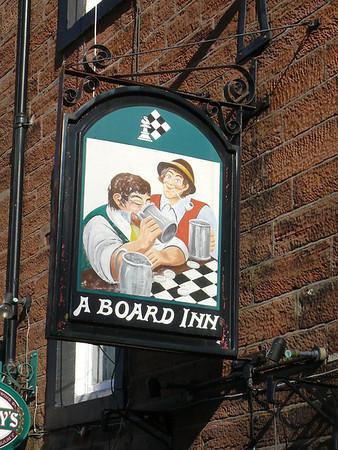 Pub Sign - A Board Inn, Boroughgate, Appleby 110302