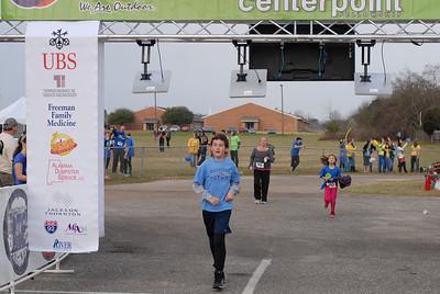 D. Bailey 5k finish