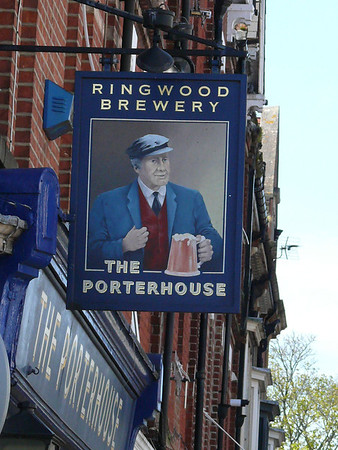 Pub Sign - The Porterhouse, Poole Road, Westbourne 110409