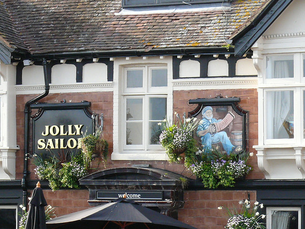 Pub Sign - Jolly Sailor, The Quay, Poole 110409