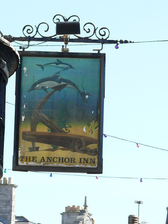 Pub Sign - The Anchor Inn, High Street, Swanage 110410