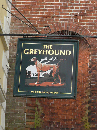 Pub Sign - The Greyhound, East Street, Bridport 110422