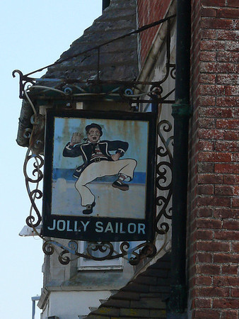 Pub Sign - Jolly Sailor, Castletown, Portland 110421