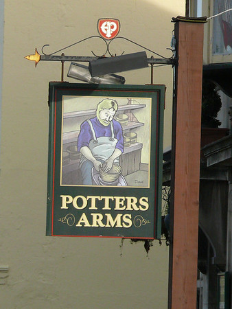 Pub Sign - Potters Arms, Blandford Road, Poole 110409