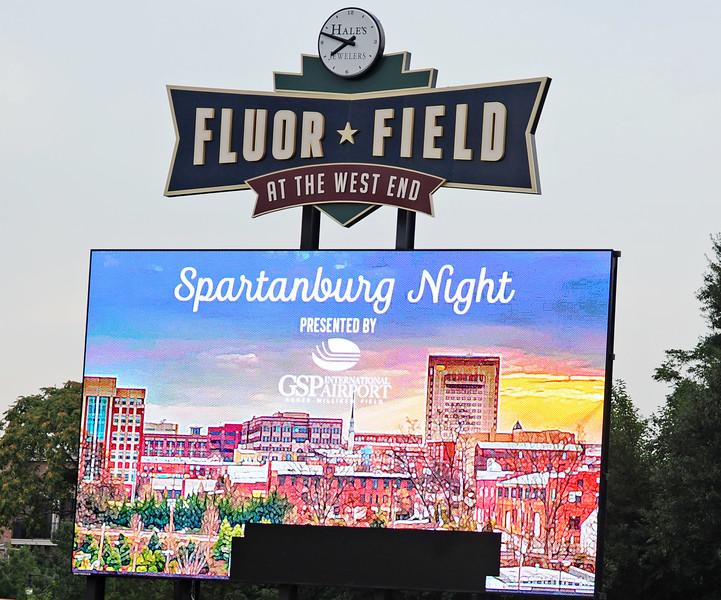 Drive Spartanburg Night