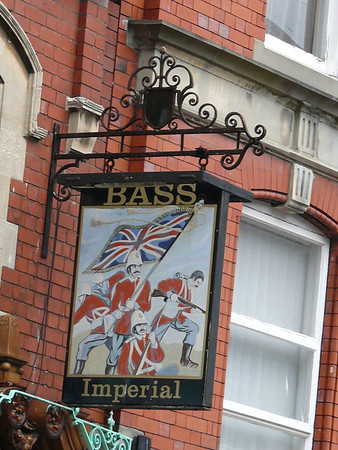 Pub Sign - Imperial, Northgate Street, Gloucester 110718