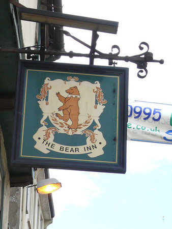 Pub Sign - The Bear Inn, Dyer Street, Cirencester 110725