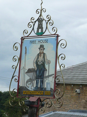 Pub Sign - Roadmaker Inn, Gorsley 110718