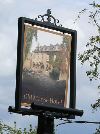 Pub Sign - Old Manse Hotel, Victoria Street, Bourton-on-the-Water 110723