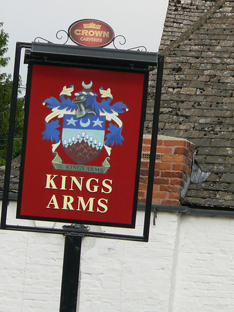 Pub Sign - Kings Arms, High Street, Prestbury 110726