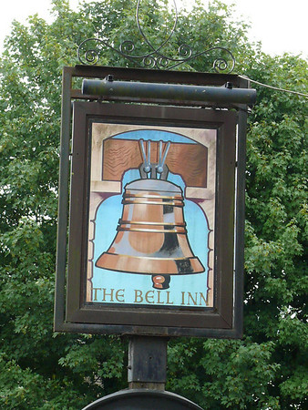 Pub Sign - The Bell Inn, Oddington Road, Stow-on-the-Wold 110723