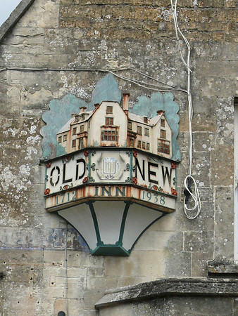 Pub Sign - Old New Inn, Rissington Road, Bourton-on-the-Water 110723