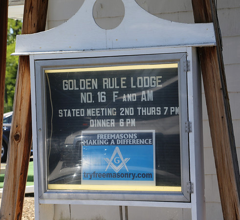 Golden Rule Lodge #16 Dedication 05-31-2014