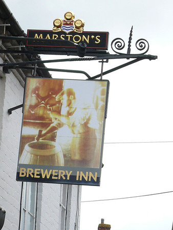 Pub Sign - Brewery Inn, High Street, Ledbury 110717