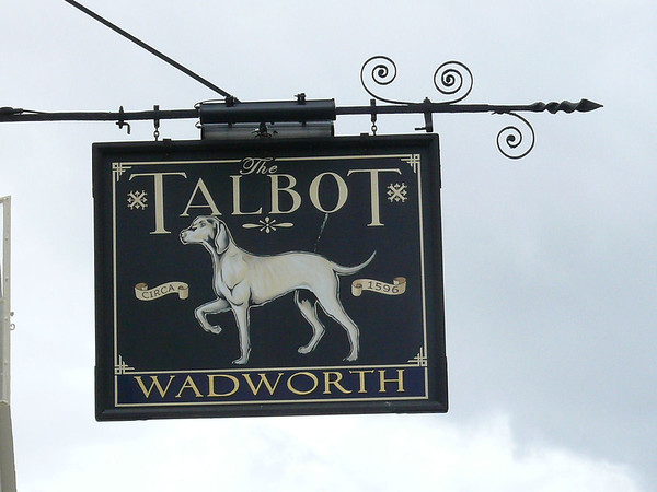 Pub Sign - The Talbot, New Street, Ledbury 110717