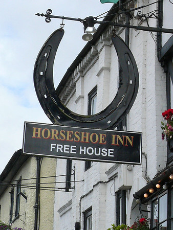Pub Sign - Horseshoe Inn, The Homend, Ledbury 110717