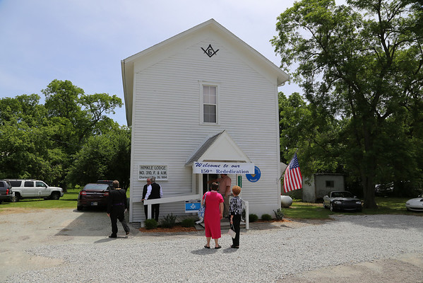 Hinkle Lodge #310 150th Rededication 06-14-2014