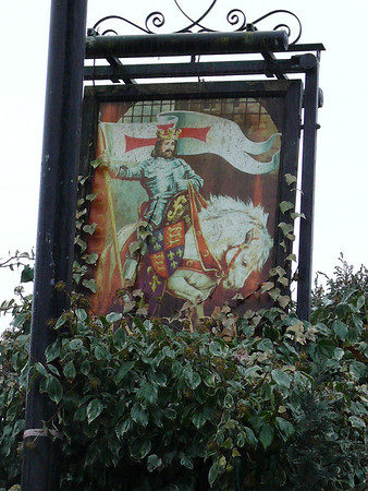 Pub Sign - King's Arms, High Street, Garstang 110101