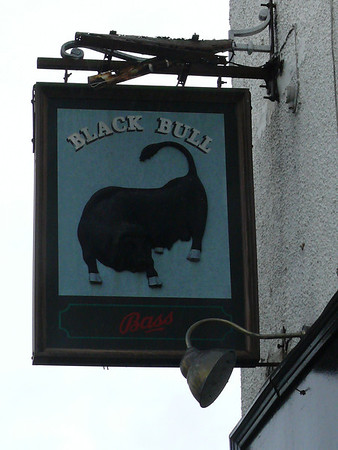 Pub Sign - Black Bull, Great Eccleston 100920