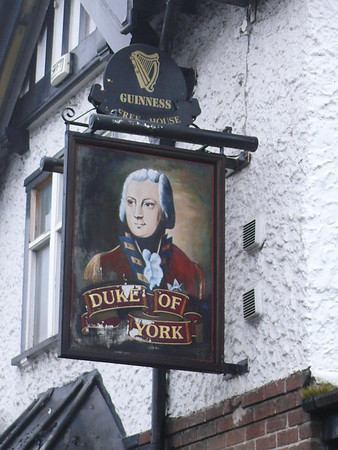 Pub Sign - Duke of York, Bolton Street, Chorley 110101