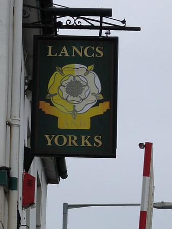 Pub Sign - Lancs and Yorks, Station Road, Bamber Bridge 110101