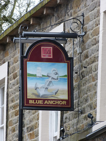 Pub Sign - Blue Anchor, Main Road, Bolton-le-Sands 111126
