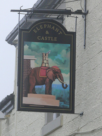 Pub Sign - Elephant & Castle, Chorley Road, Adlington 110101