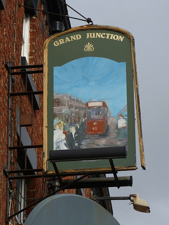 Pub Sign - Grand Junction, Watery Lane, Preston 140209 Preston