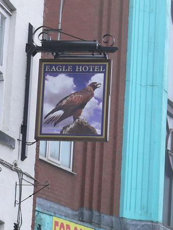 Pub Sign - Eagle Hotel, Bolton Street, Chorley 110101