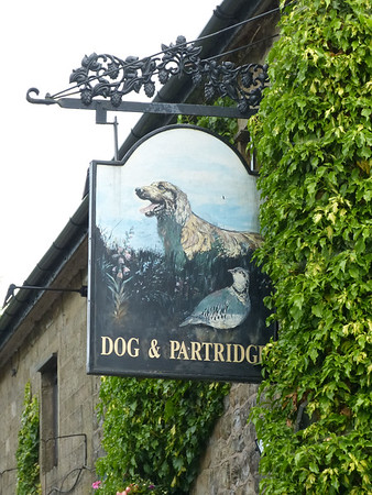 Pub Sign - Dog & Partridge, Hesketh Lane, Chipping 160612