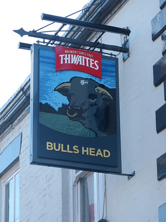 Pub Sign - Bulls Head, Preston Old Road, Whitton, Blackburn 130908