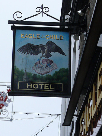 Pub Sign - Eagle & Child, High Street, Garstang 110101