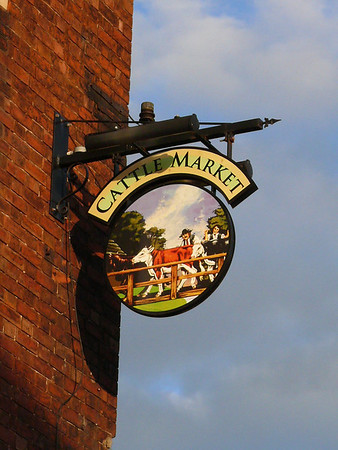Pub Sign - Cattle Market, Brook Street North, Preston 101017