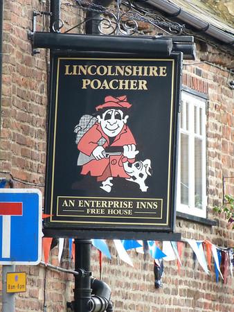 Pub Sign - Lincolnshire Poacher, Spalding 120624