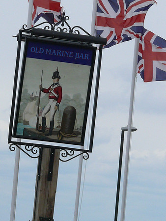 Pub Sign - Old Marine Bar, St Edmund's Terrace, Hunstanton 110612