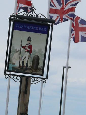Pub Sign - Old Marine Bar, St Edmund's Terrace, Hunstanton 110612