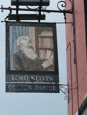 Pub Sign - Lord Kelvin, Old Market Street, Kings Lynn 110610