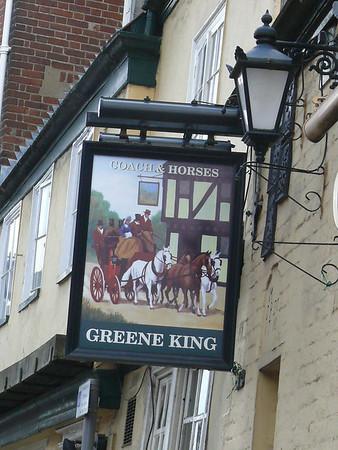 Pub Sign - Coach & Horses, Bethel Street, Norwich 110611